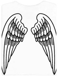 Obrázek ke článku Tričko s křídly, triko pro anděly